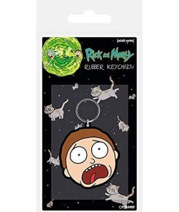 Rick & Morty Porte-clé -...